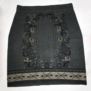 MAX STUDIO Sweater Pencil Skirt XL